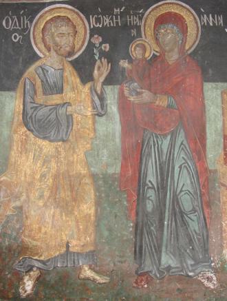 Αποτέλεσμα εικόνας για αγιοι ιωακειμ και αννα