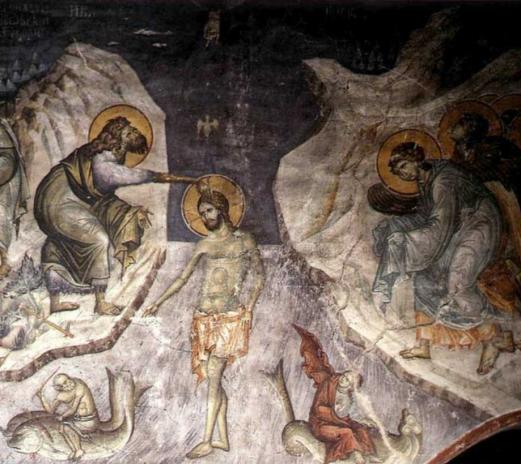 Αποτέλεσμα εικόνας για η βαπτιση του χριστου