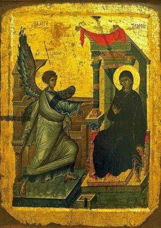 Αποτέλεσμα εικόνας για ευαγγελισμοσ θεοτοκου