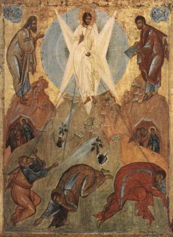 Αποτέλεσμα εικόνας για μεταμορφωση του σωτηρος ευαγγελικη περικοπη