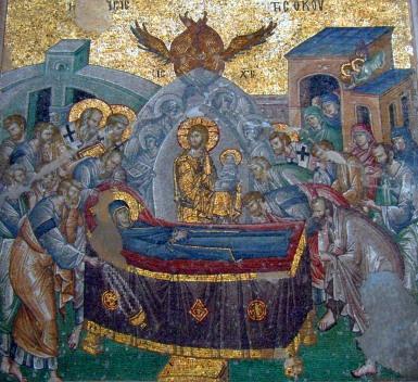 Αποτέλεσμα εικόνας για ΠΕΡΙ της κοιμησεως της θεοτοκου